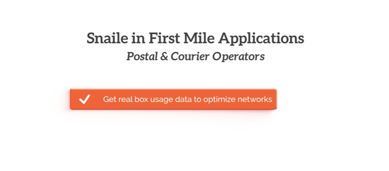 First Mile & Internet of Things