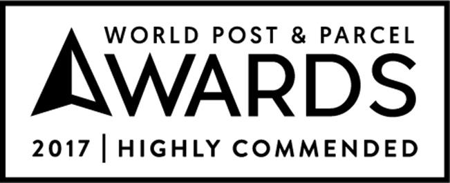 Snaile Wins Runner-up at The 2017 World Post & Parcel Award